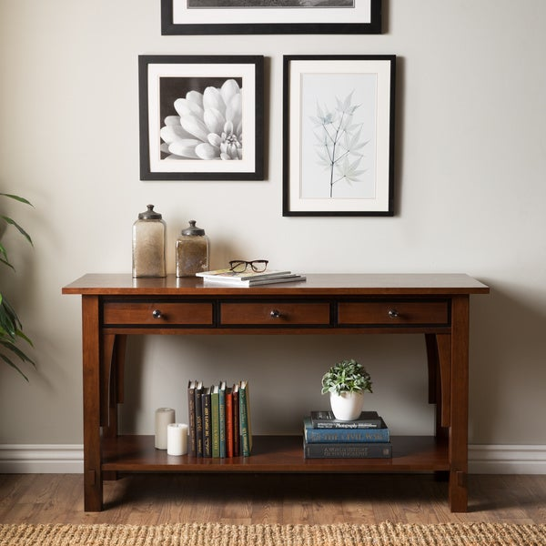 Talisman 3-drawer Console Table