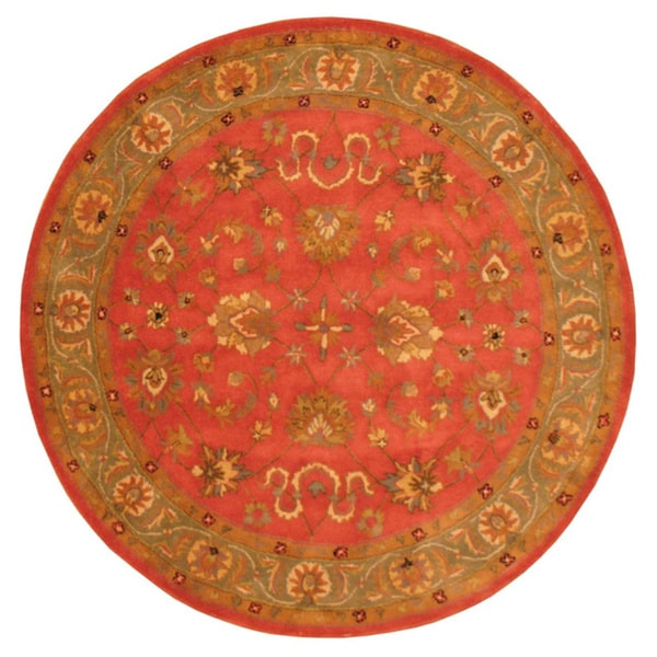 Indo Mahal Hand-tufted Rug (6' Round)