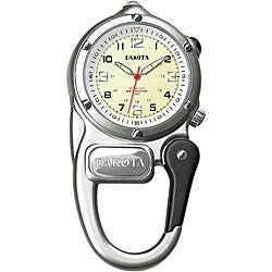 Dakota Men's Water-Resistant Mini-Clip Watch