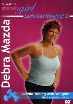 Shapelygirl: Let's Get Moving 2!: Cardio Toning with Weights (DVD)