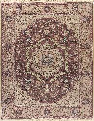 Nourison Hand-woven Millennia Rose Rug (8'10 x 11'10)
