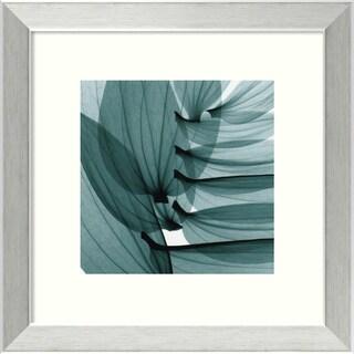Steven N. Meyers 'Lily Leaves' Framed Casual Art Print