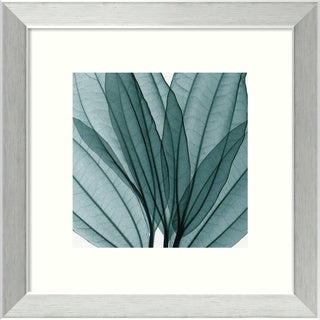 Steven N. Meyers 'Leaf Bouquet' Framed Matted Art Print