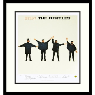Limited Edition: The Beatles 'Help!' (Album Cover) Framed Art Print