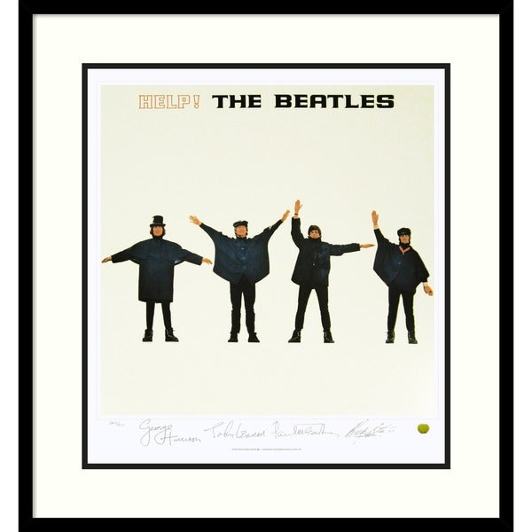 The Beatles: Help! (Album Cover)' Framed Art Print