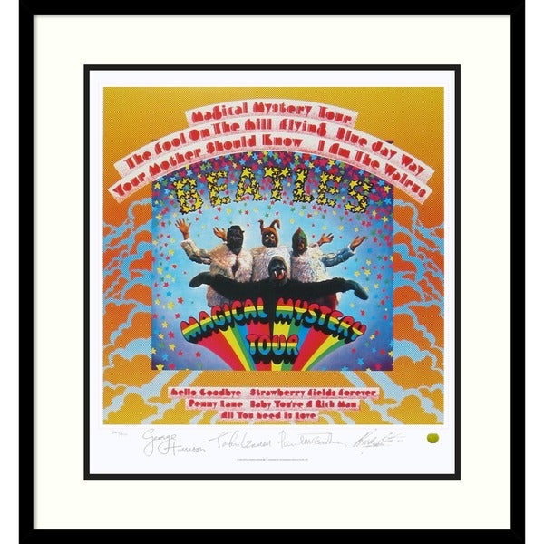 The Beatles: Magical Mystery Tour (Album Cover)' Framed Art Print