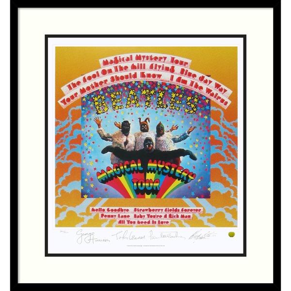 The Beatles: Magical Mystery Tour (Album Cover)' Framed Art Print