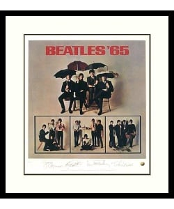 Limited Edition: The Beatles '65' (Album Cover) Framed Art Print