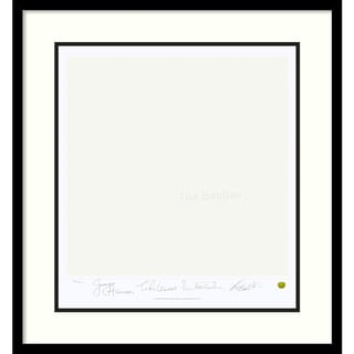 Limited Edition: The Beatles 'White Album' (Album Cover) Framed Art Print