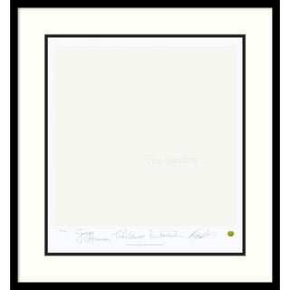 The Beatles: White Album (Album Cover)' Framed Art Print