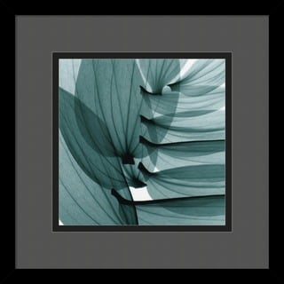 Steven N. Meyers 'Lily Leaves' Framed Art Print
