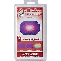 Spellbinders Nestabilities 'Labels 4' Die Set