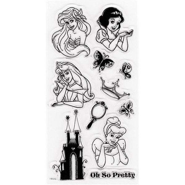 Disney's Princesses Clear Stamps