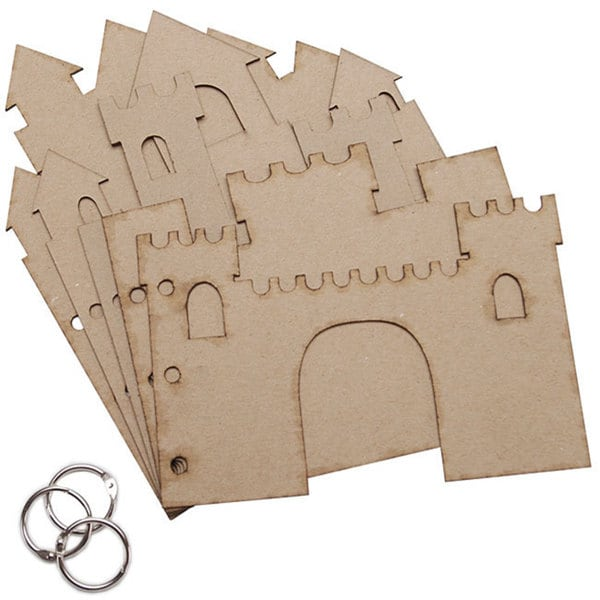 Sandcastle 3-ring Chipboard Album