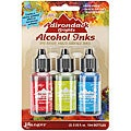 Adirondack Brights Fast-Drying Alcohol Inks (Set of 3)