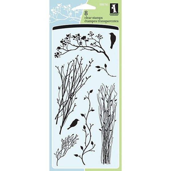 Inkadinkado 'Delicate Branches' Clear Stamps