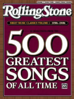 Rolling Stone Sheet Music Classics: 1950s-1960s (Paperback)
