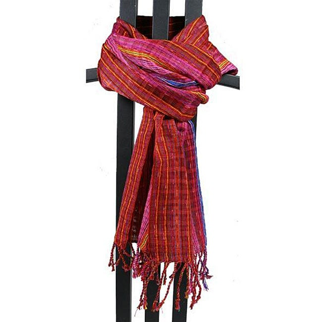 San Antonio Passion Red Scarf (Guatemala)