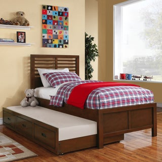 Ferris Twin Captain's Bed with Trundle Unit