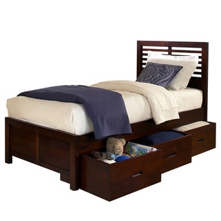 Ferris Cherry Full-size Platform Storage Bed