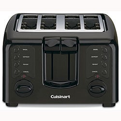 Cuisinart CPT-140BK Cool Touch 4-slice Toaster (Refurbished)