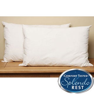 Splendorest Angel Soft 220 TC Cotton Down Alternative Queen-size Pillows (Set of 2)