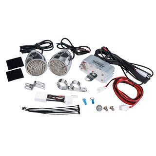 Pyle PLMCA60 Motorcycle Radio/ MP3 Mount plus USB Charger System
