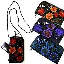 Overdyed Velvet Fabric Bag (Guatemala)