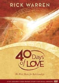 40 Days of Love: We Were Made for Relationships (DVD video)