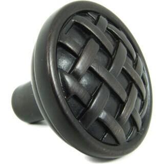 Basket Weave Cabinet Knobs (Pack of 10)