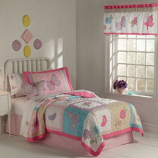 Flurry of Butterflies 3-piece Quilt Set
