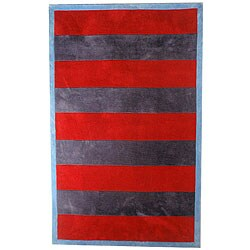 Classic Stripes Navy Rug (5' x 8')