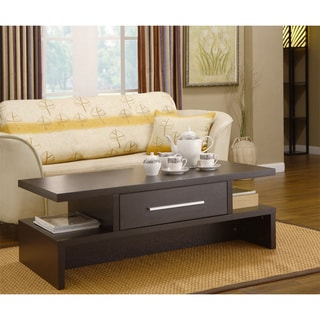 Furniture of America Tepekiie Two-side Open Coffee Table