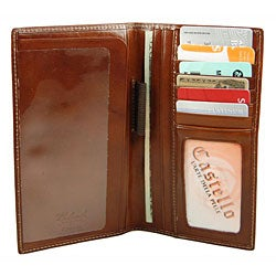 Castello Colombo Checkbook Coat Wallet