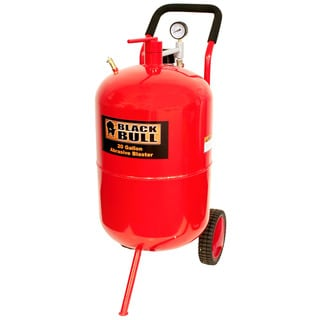Black Bull 20-gallon Sandblaster Cabinet