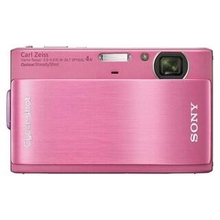 Sony Cyber-shot DSC-TX1 10.2 Megapixel Compact Camera - Pink