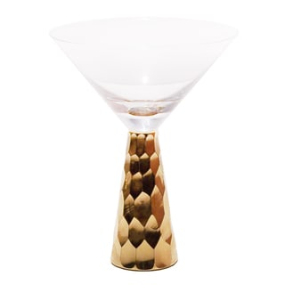 Impulse! 'Gold Chisel' Martini Glasses (Set of 6)