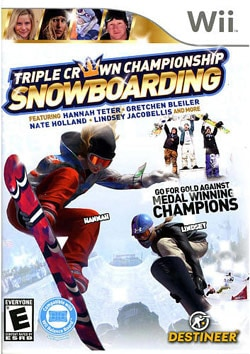 Wii - Triple Crown Snowboarding