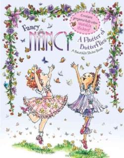 Fancy Nancy a Flutter of Butterflies: Reusable Sticker Book (Paperback)