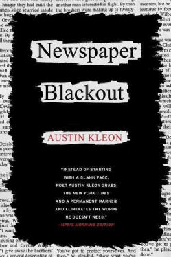 Newspaper Blackout (Paperback)