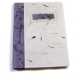 Blue Handmade Paper Notepad (India)