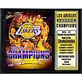 LA Lakers 2009 NBA Champions 12x15-inch Collectible Sports Print