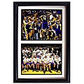 "LA Lakers 2009 NBA Champions Collectible Sports Prints in Custom Frame (12"" x 18"")"