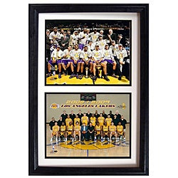 LA Lakers 2009 NBA Champions 12x18-inch Collectible Sports Print