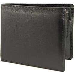 Romano Men's Billfold with Removable Coin Pouch