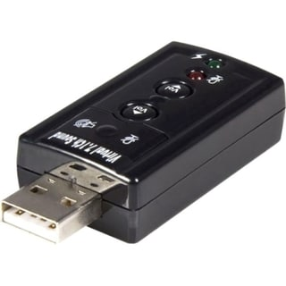StarTech.com USB audio adapter - virtual 7.1 - external sound card -