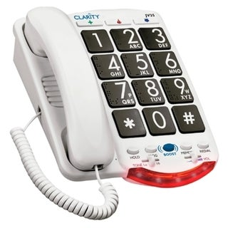 Ameriphone JV35 Standard Phone - White