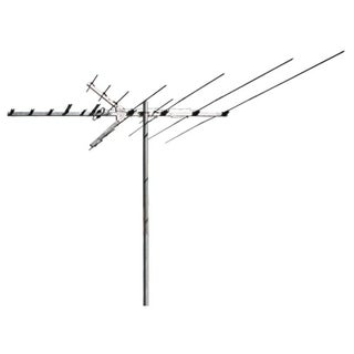 RCA Outdoor Digital TV and FM Radio Antenna for Suburban or Rural Env