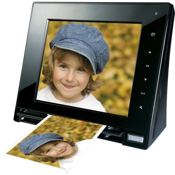 "Mustek PF-A6L Digital Photo Scanner With 8"" LCD"