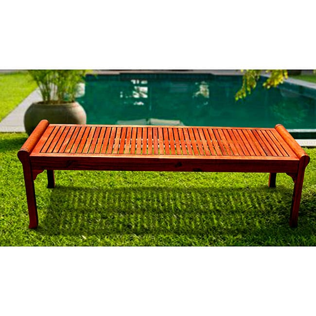 Taha Backless 5 Foot Bench Overstock Shopping Great Deals On Outdoor Benches